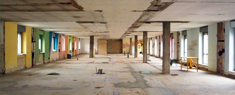 Strip out<br>e demolizioni interne